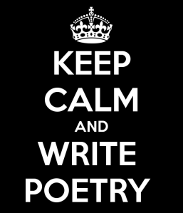 keep calm write poetry