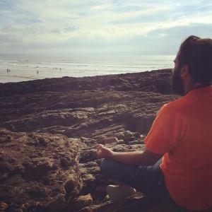 rahul meditating
